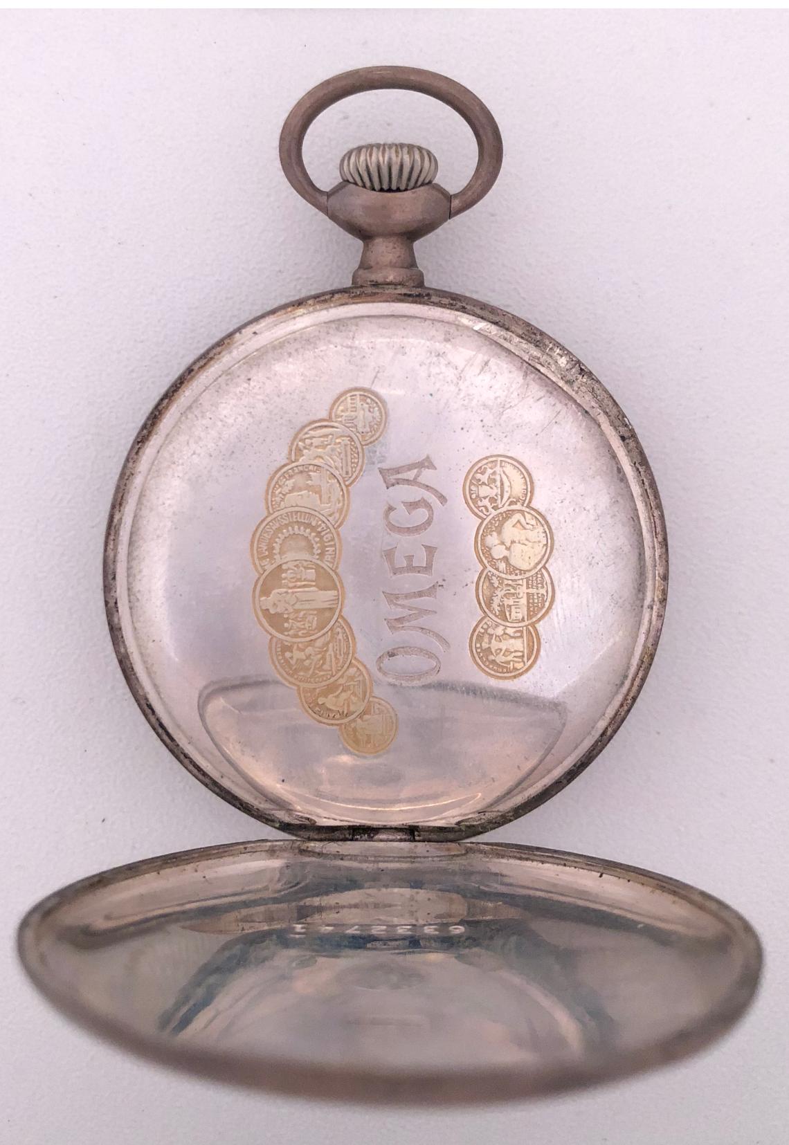 82e9501e7 Reloj lepine en plata de ley de los maestros relojeros de la OMEGA ...