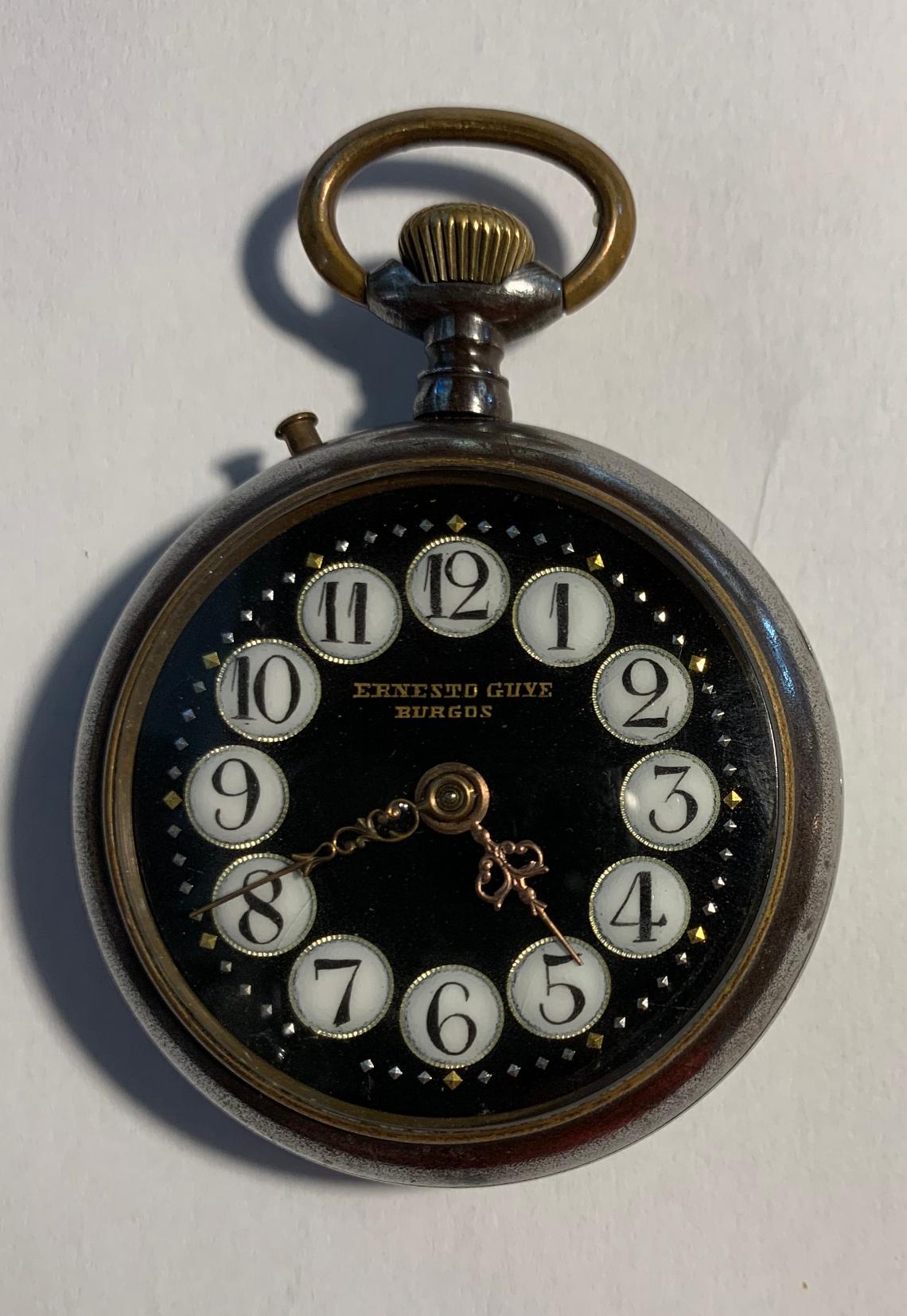 Reloj PERFECTION W&D con inusual esfera negra.   Museo